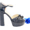 Beautiful sandals - platform strappy sandals