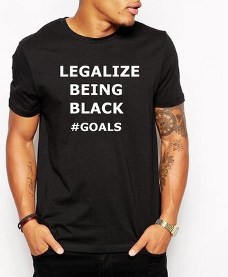shirt protest problack mens t-shirt black t-shirt
