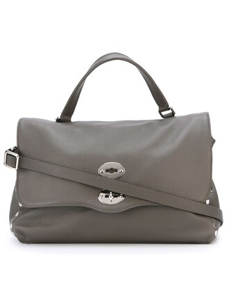 satchel women grey bag