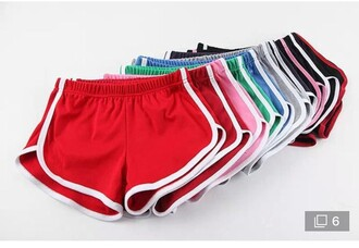 shorts elastic short stretchy
