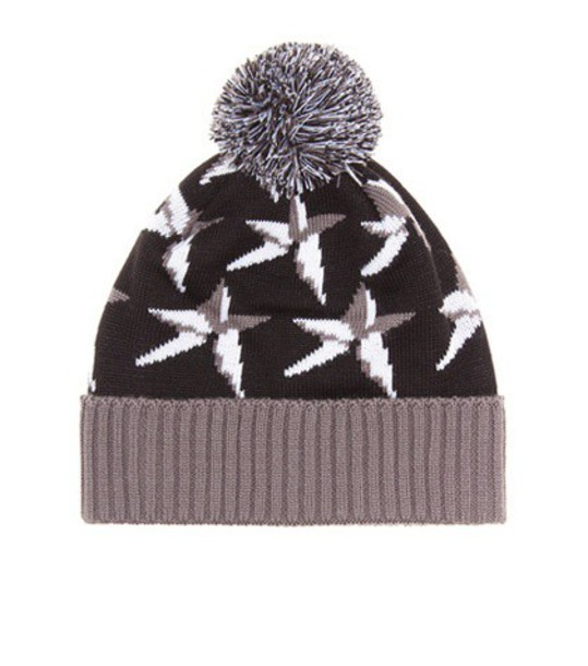 Perfect Moment beanie wool black hat