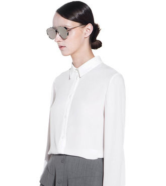 sunglasses gold summer summer outfits summer holidays summer accessories sun sunnies eyewear women fashion style streetwear hot beautiful girl girly blouse silver gorgeous outfit outfit idea eyeware classy classic accessory accessories pants top tumblr shirt