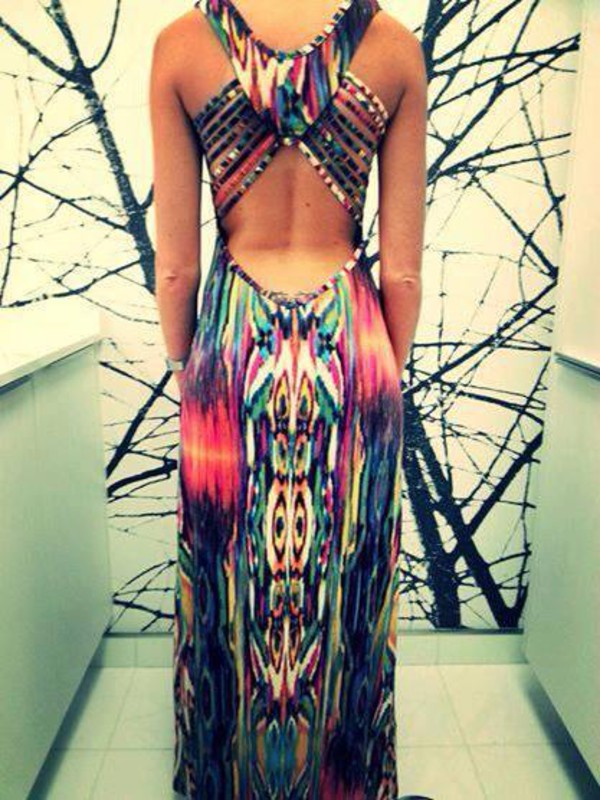 dress backless backless dress maxi dress