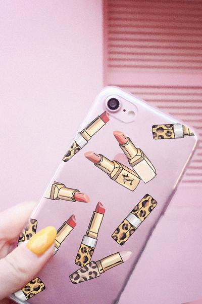 iPhone case - Lipsticks