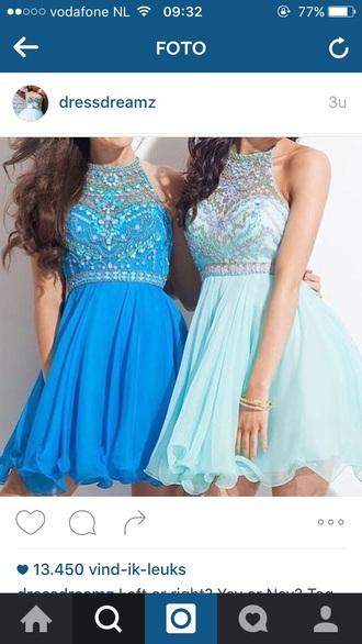 dress blue dress blue prom dress