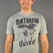 Batman robin hurry t-shirt sheer