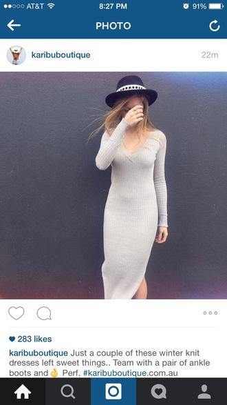 dress knit dress