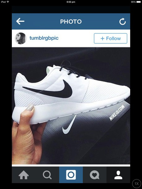 shoes white nikes