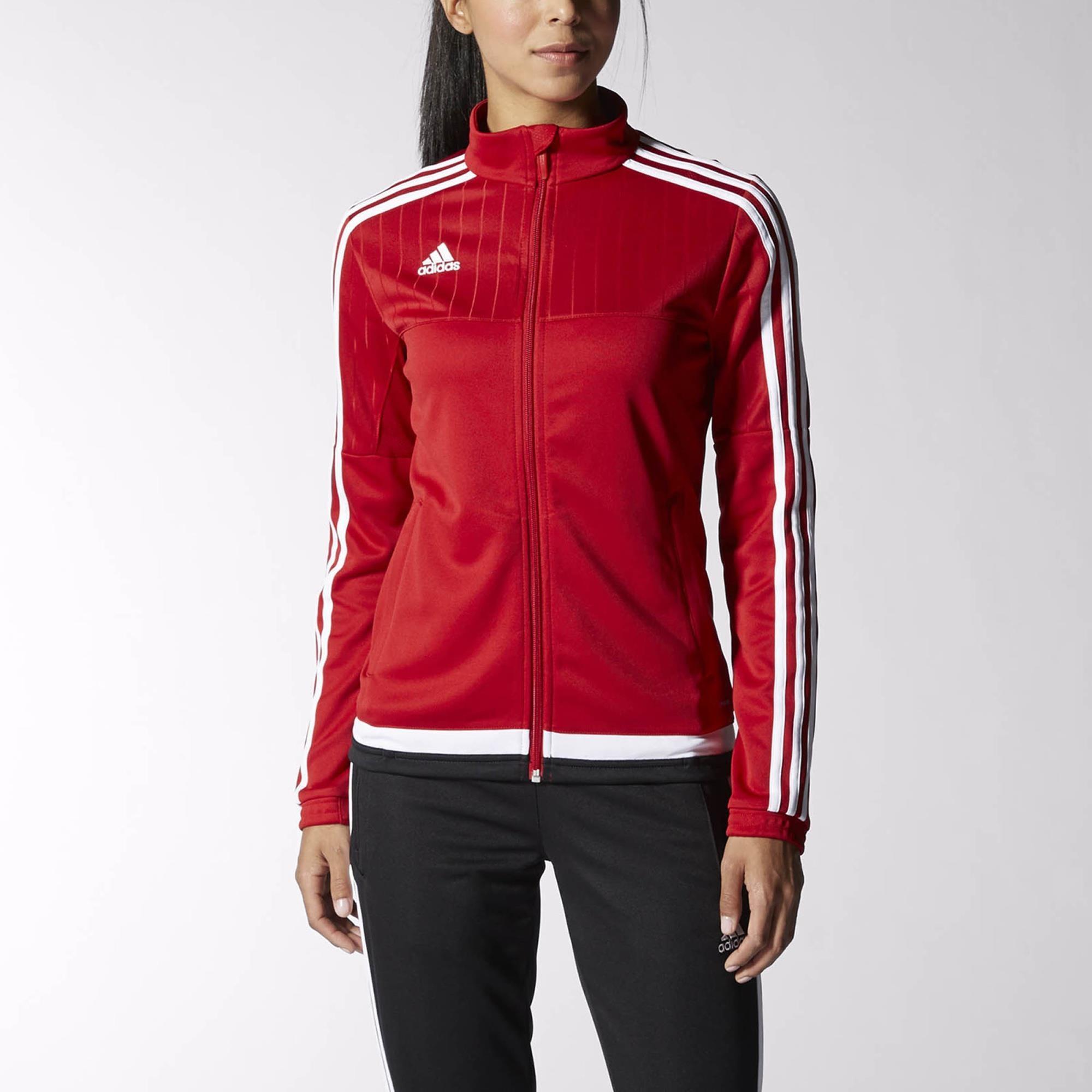 adidas Tiro 15 Training Jacket - Red | adidas US