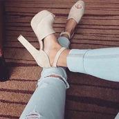 shoes,high heels,beige heels,high-heeled sandals,peep toe heels