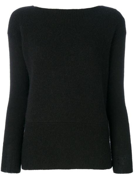 LIU JO jumper women black sweater