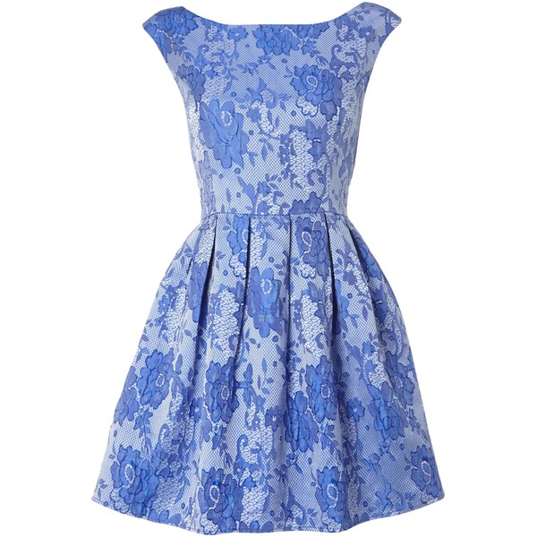Glamorous Floral lace shift dress - Polyvore