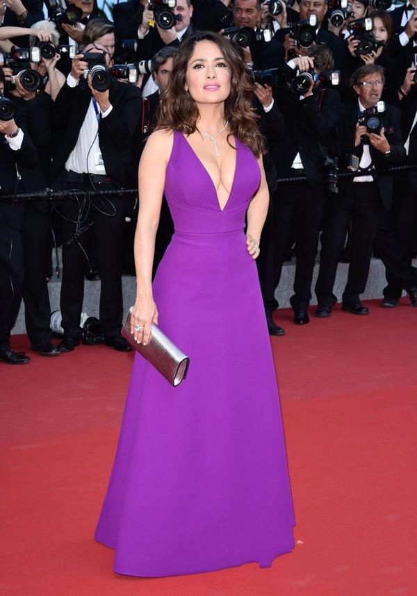 Aliexpress.com : Buy 2015 Purple Red Carpet Dresses Sexy Deep V ...
