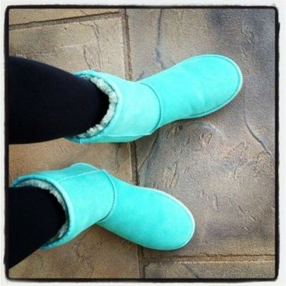shoes tiffanyblue light blue tiffany ugg boots tiffany&co soft tiffany blue
