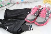 shoes,nike,pink,grey,nike free run
