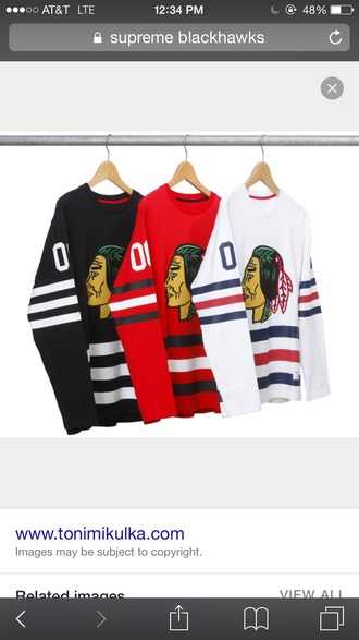 shirt supreme asap rocky blackhawks