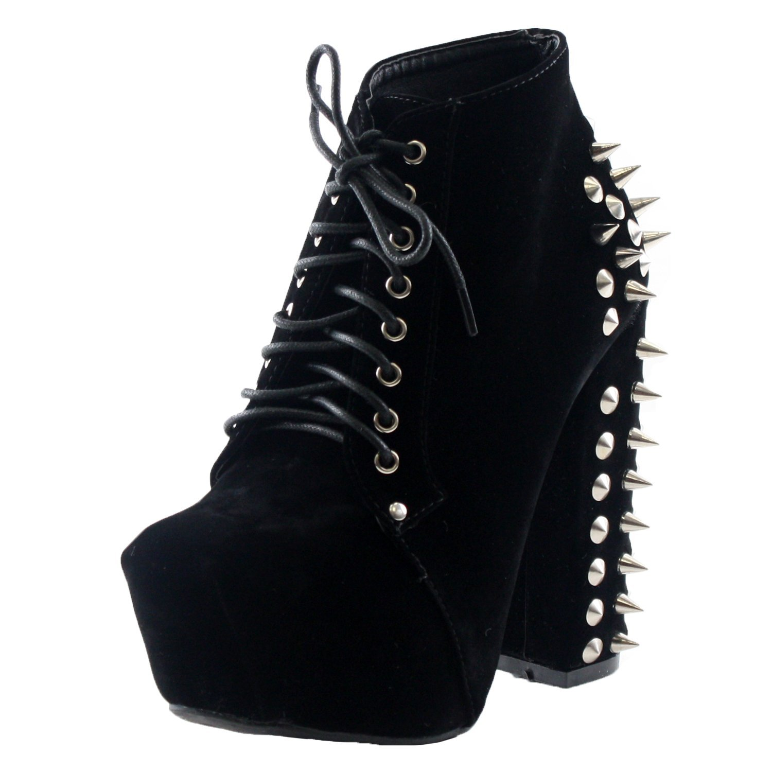 01 bootie boots, black suede, 6.5: shoes