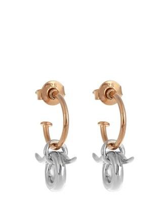 mini earrings gold silver jewels