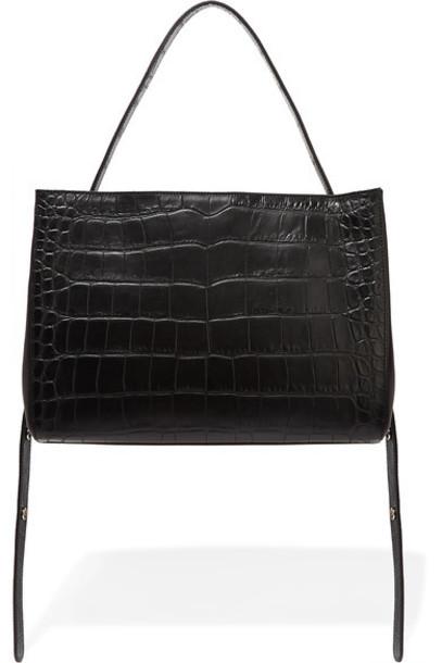 Little Liffner leather black bag