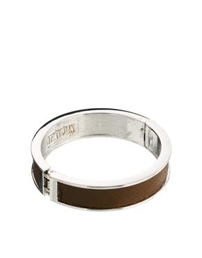 Tokyo Jane | Tokyo Jane Rita Wide Leather Bracelet at ASOS