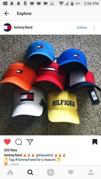 hat tommy hilfiger baseball hat baseball cap