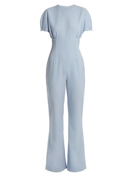 EMILIA WICKSTEAD jumpsuit light blue light blue