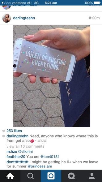 phone cover queenoffuckingeverything