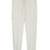 Mid-waist Solid Straight Pants White - Sheinside.com