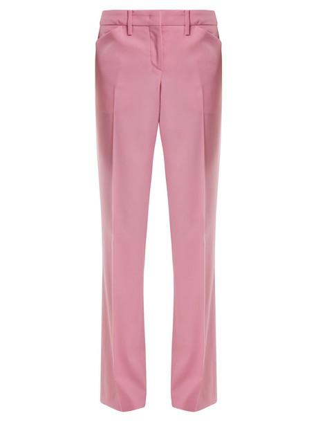 No. 21 wool light pink light pink pants