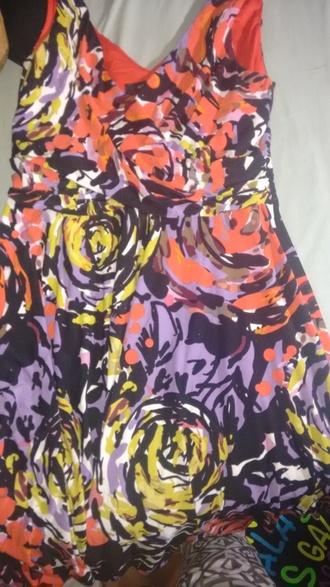 dress nine west 95% polyester 5% spandex