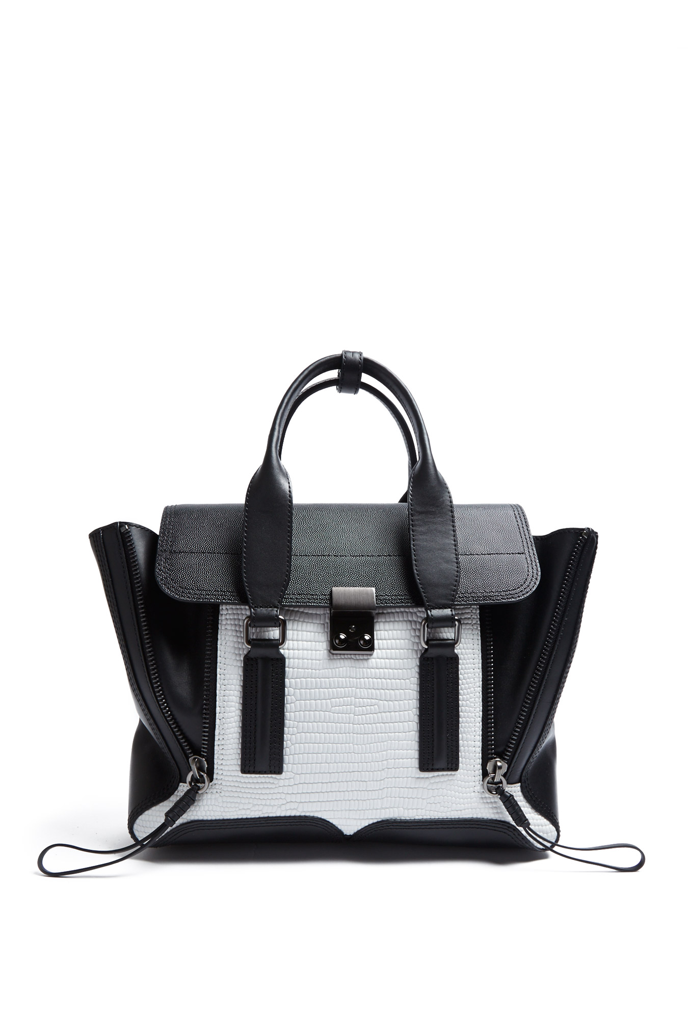 3.1 Phillip Lim  | Colour Block Pashli Satchel by 3.1 Phillip Lim