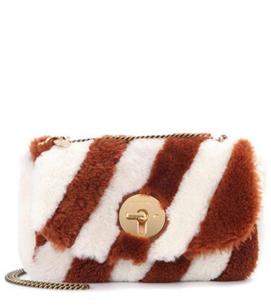 See by Chloe fur bag shoulder bag brown
