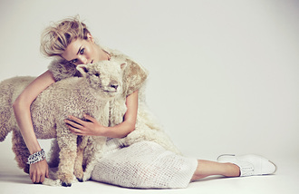shoes jewels fur rosie huntington-whiteley skirt vest fur vest