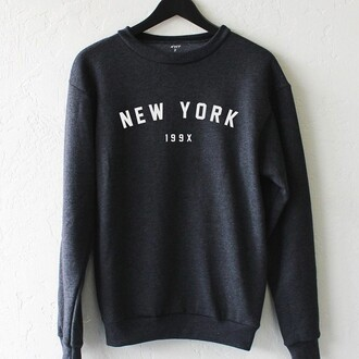sweater nyct clothing graphic sweater printed sweater