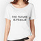'the future is female | trendy/feminism/meme' women's relaxed fit t-shirt by vrai chic