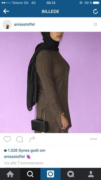 bag zara black