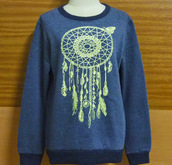 sweater,winter cold,cold clothing,womens tribal,indian head dress,cold,sweatshirt,winter sweater,fashion,women,jumper,crewneck,charcoal,t-shirt,cool,winter outfits,long sleeves,american indian,dreamcatcher,dreamcatcher necklace,native american,crew neck sweater,yoga,winter dress,tribal sweater,plus size shirt,lady