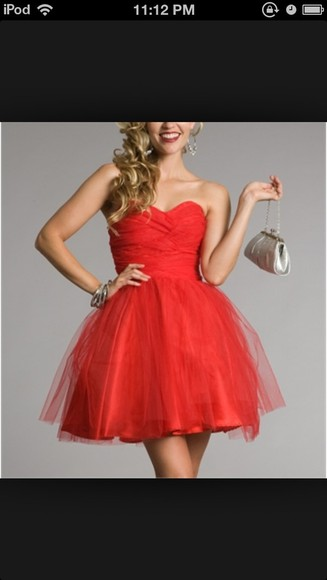 dress red dress red, red dress, formal, prom, homecoming, pretty, long