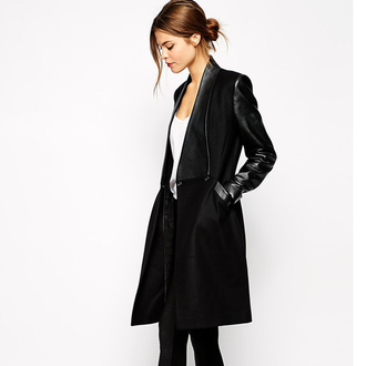 coat fall outfits fashion outfit black outfit