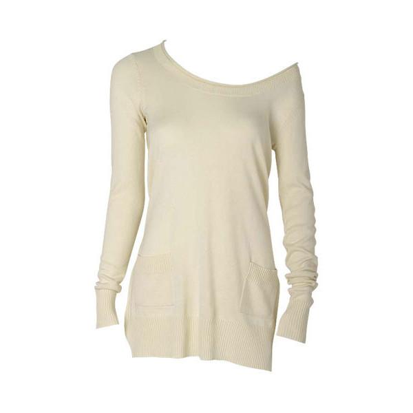 Shoulder pocket tunic