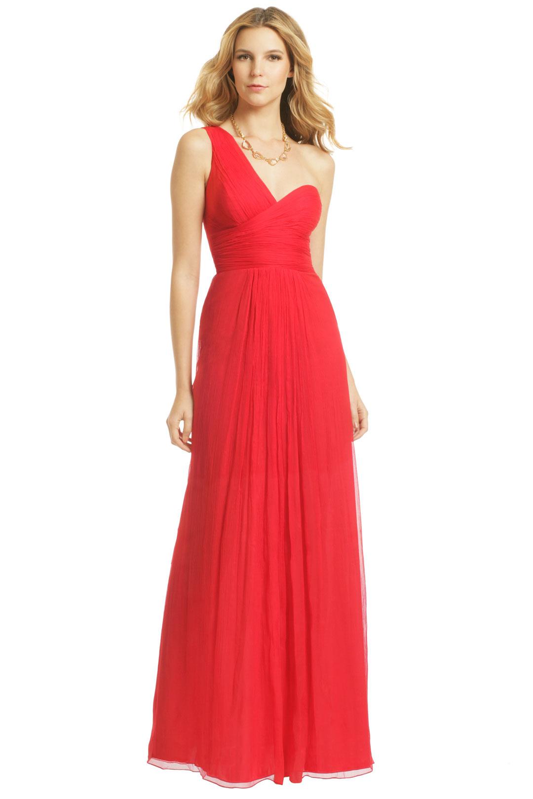 Carlos miele vermelho olinda gown