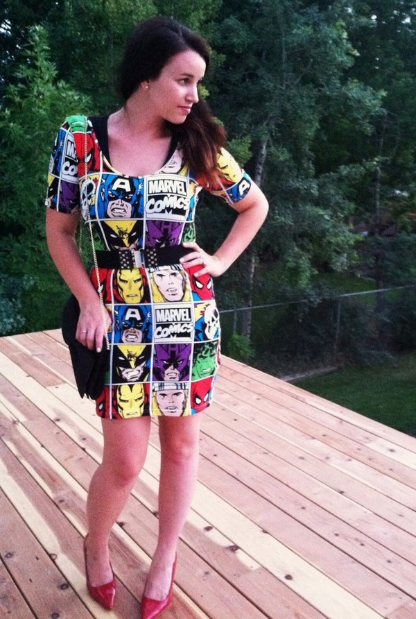 dress marvel