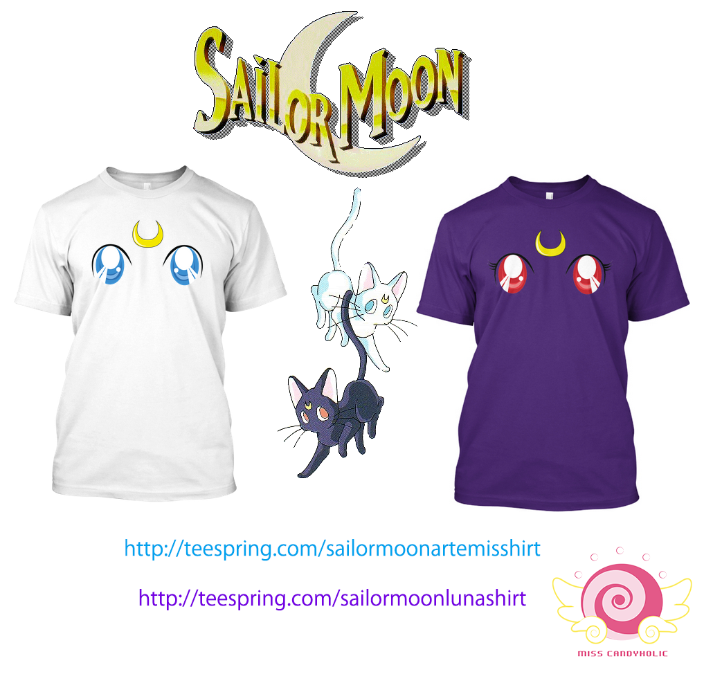 Sailor Moon Luna Shirt! | Teespring