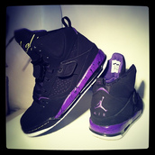 shoes,jordan,purple,black,flight,nike air force