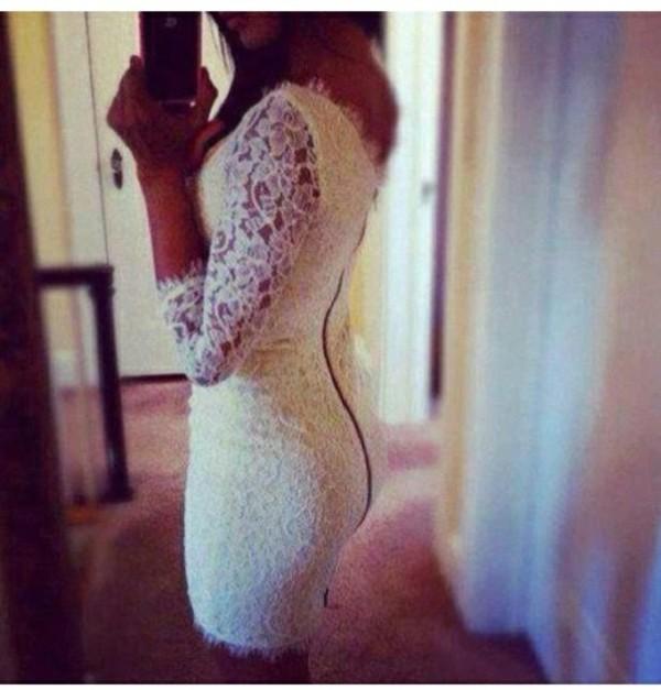 dress lace wedding dress lace dress white dress