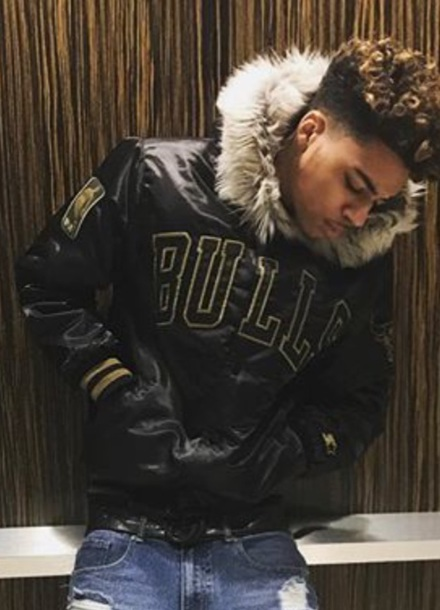 jacket licas coly chicago bulls fur lucas coly