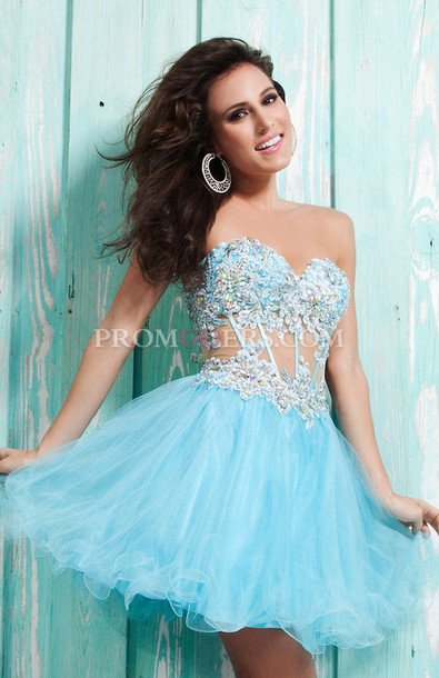 Short Puffy Dresses For Prom - Long Dresses Online
