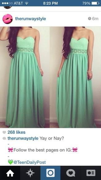 mint color maxi dress maxi