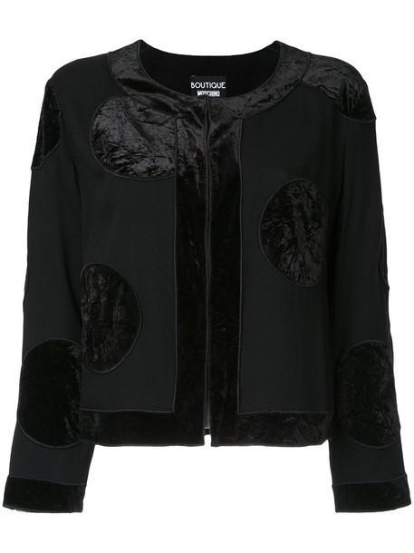 BOUTIQUE MOSCHINO jacket women black