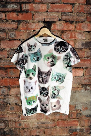 cats shirt tumblr